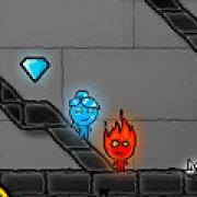 Игра Игра Огонь и Вода 4: Кристальный храм
