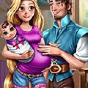 Игра Игра Рапунцель и Флинн: счастливая семья