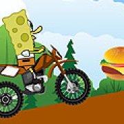 Игра Игра Мотоцикл Губки Боба