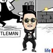 Игра Игра PSY танец Gentleman