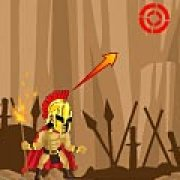 Игра Игра Огненное копье спартанца