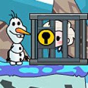 Игра Игра Холодное сердце: Ганс похитил Эльзу и Анну