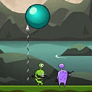 Игра Игра Разрезание пузырей / Bubble Slasher