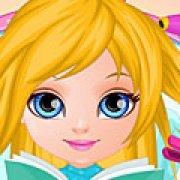 Игра Игра Малышка Барби в парикмахерской Холодное сердце