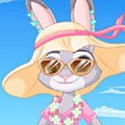 Игра Игра Зверополис одевалки: летний стиль Джуди Хопс