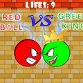 Игра Игра Красный шар против зеленого короля