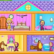 Игра Игра Маша и Медведь: кукольный домик