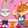 Игра Игра Зверополис: Ник делает куклу для Джуди