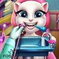 Игра Игра Говорящая Кошка Анжела у Дантиста