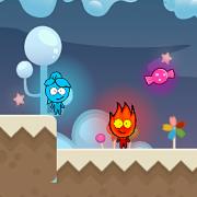 Игра Игра Огонь и Вода: Страна Конфет