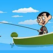 Игра Игра Мистер Бин рыбалка