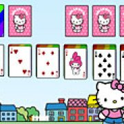 Игра Игра Пасьянс Hello Kitty