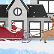 Игра Игра Дед мороз гонки