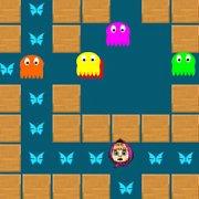 Игра Игра Маша собирает бабочек