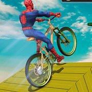 Игра Игра Супергерои на велосипедах BMX