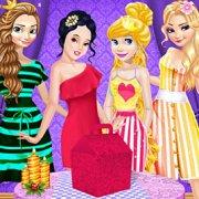 Игра Игра Принцессы Диснея: ленивые выходные