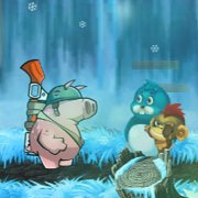 Игра Игра Солдат Свинья: Супер Приключение