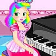 Игра Игра Принцесса Джульетта: уроки фортепиано