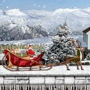 Игра Игра Санта привозит подарки