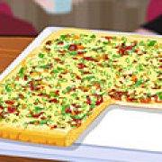 Игра Игра Квадратная пицца