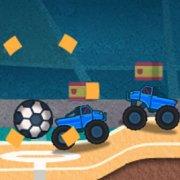 Игра Игра Футбол 2018: монстр грузовики