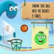 Игра Игра Дино баскетбол