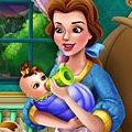 Игра Игра Красавица и Чудовище: Белль кормит малыша