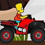 Игра Игра Барт Симпсон: вождение квадроцикла