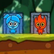 Игра Игра Красный Мальчик и Синяя Девочка 3
