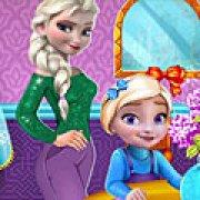 Игра Игра Безделье дочери Эльзы