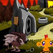 Игра Игра Счастливая обезьянка: Уровень 502 Синяя Птица