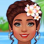 Игра Игра Моана современная принцесса