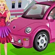 Игра Игра Барби моет машину