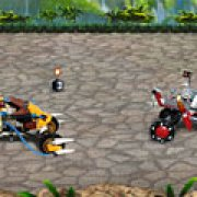 Игра Игра Лего чима гонки чимацикл