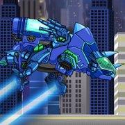 Игра Игра Роботы Динозавры: собирать Трицератопса