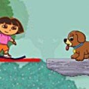 Игра Игра Дора спасает собаку