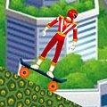 Игра Игра Могучие рейнджеры на скейтборде