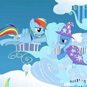 Игра Игра Пони: лазер Радуги Дэш