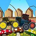 Игра Игра Гонки на тракторах зимой