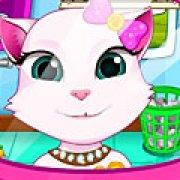 Игра Игра Анжела чистит зубы