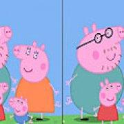 Игра Игра Свинка Пеппа найди отличия
