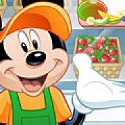 Игра Игра Микки Маус готовит коктейли