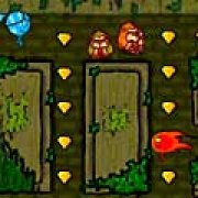 Игра Игра Огонь и Вода в лесу