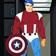 Игра Игра Капитан Америка: одевалка