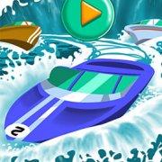 Игра Игра Быстрые лодки на двоих