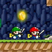 Игра Игра Братья Марио спасают принцессу