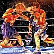 Игра Игра Пазлы: огненный бокс