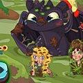 Игра Игра Как приручить дракона: падение в болото