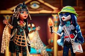 Игра Новость Новые куклы Монстер Хай 2017: Клео и Гулия