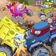 Игра Игра Никелодеон: соревнования крушения грузовиков